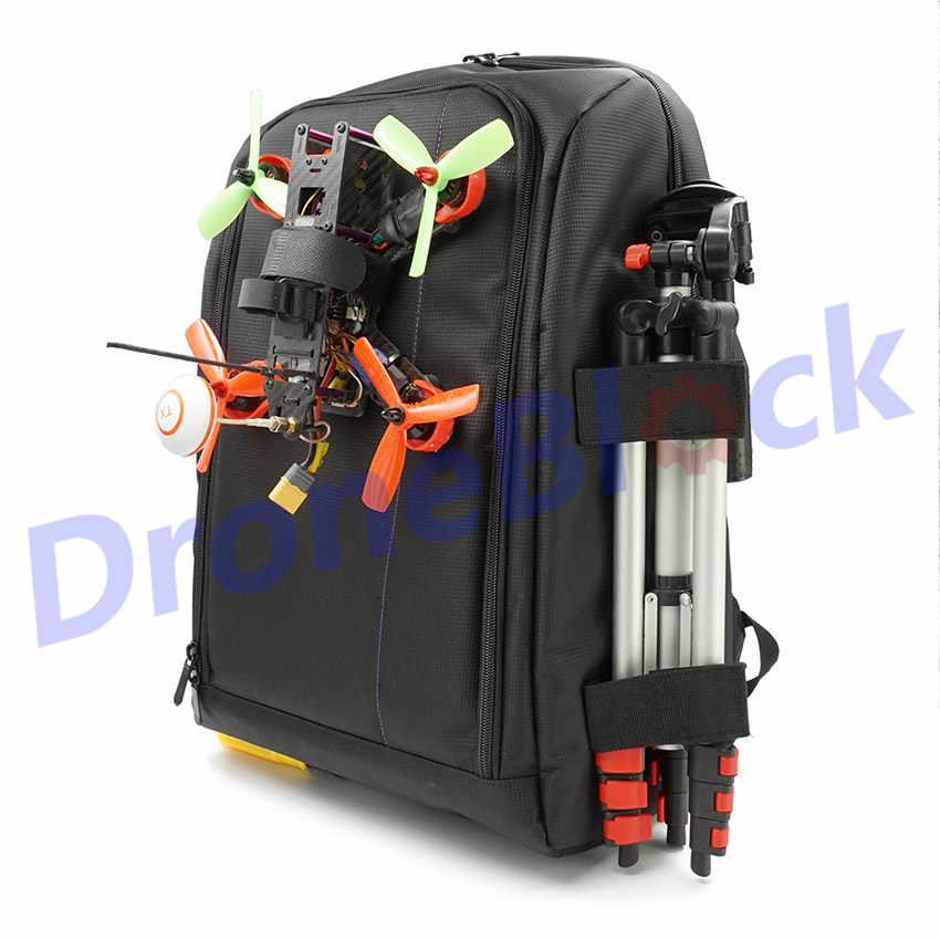 FPV гоночный Дрон рюкзак для квадрокоптера сумка для переноски открытый портативный чехол для мультиротора RC самолет фиксированное крыло