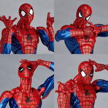 Scale 16cm Spiderman Action Figure Super Flexible PVC Models Children Toys Collections Gift