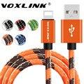 VOXLINK для Lightning Кабель 5V2A Зарядное Устройство Адаптер Оригинальный USB Кабель для iphone 7 6 s plus 5 5S ipad mini Мобильного Телефона кабели