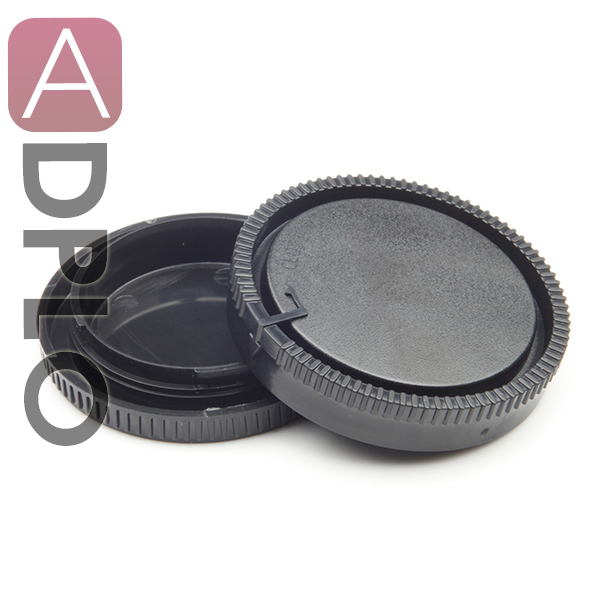 Lens Rear Cap and Body Cap work for Sony