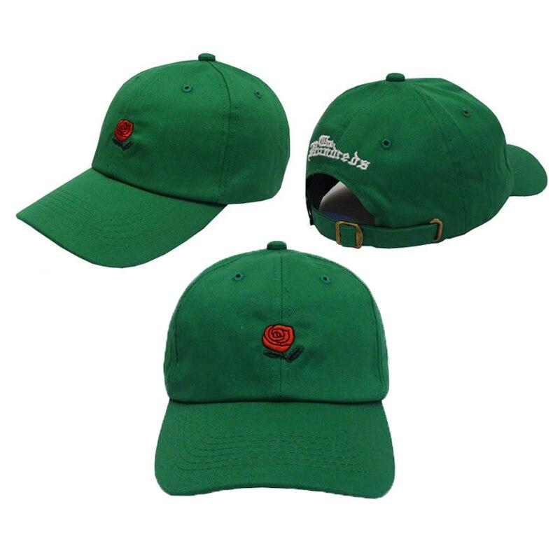 c6c9f08854299 New Rose Baseball Caps Women Snapback Cap Flower Summer Embroidery Curved  Spring Snapback Caps Men Trapback Hip Hop Hats Bone-in Baseball Caps from  Apparel ...