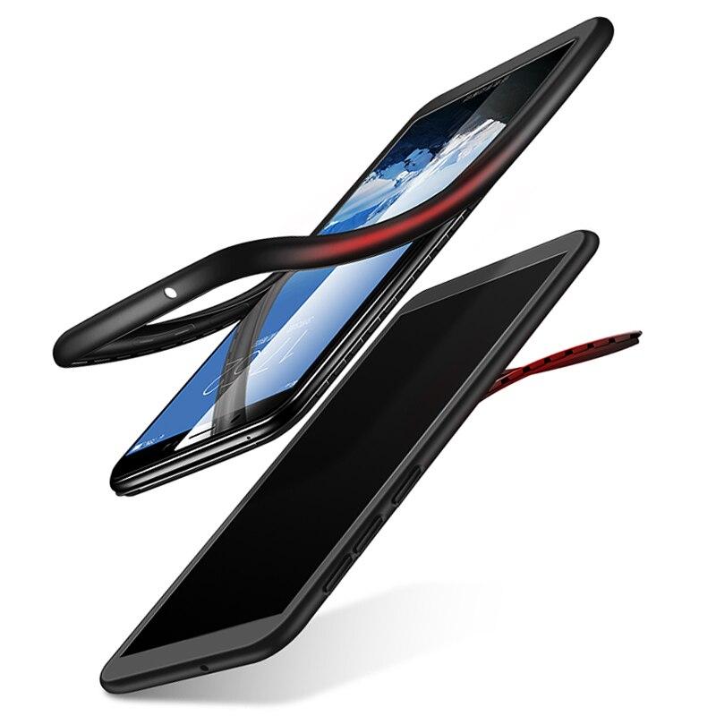 360 Degree Soft TPU Silicon Case For Xiaomi Mi F1 5C 6 A1 5X Note 3 Max2 6X A2 8SE Redmi Note 4 4X 5 5A 6 6A Pro Plus