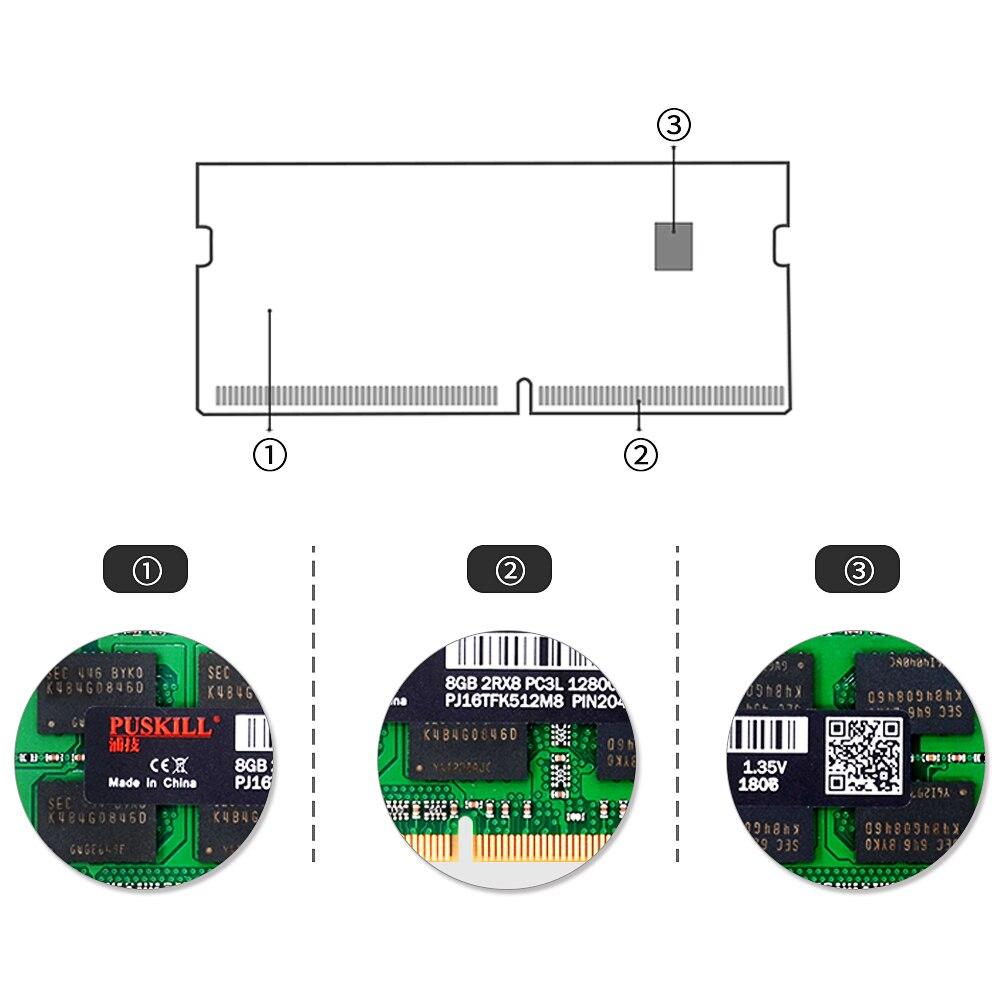 Factory wholesale sodimm DDR3 4GB 8GB 2GB 1333 1600MHZ for Laptop memoria ram 4