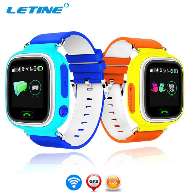 Letine Smart Baby Watch Q90 <font><b>Smartwatch</b></font> Android 2017 <font><b>Kids</b></font> Children's Clock with GPS Tracker Sim Card and Phone Function Q100 <font><b>Q50</b></font> image