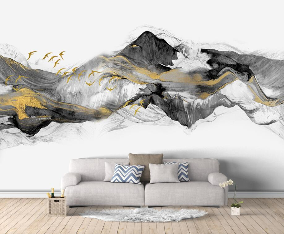 Painting Supplies & Wall Treatments New Fashion Customized Large Mural Mosaic Tile Brick Pattern American Retro Abstract 3d Wallpaper For Living Room Tv Backdrop 3d Wall Paper A Great Variety Of Goods