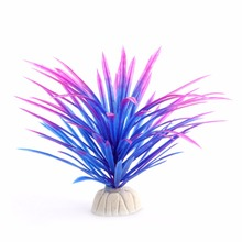 Simulation Artificial plants Aquarium Decor Water Weeds Ornament Plant fish tank aquarium Grass 12cm akvaryum dekor