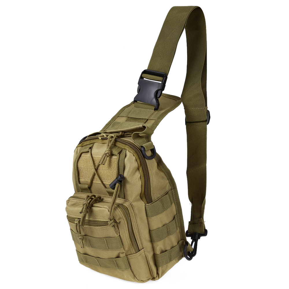Hot Sale Durable Outdoor Shoulder Military Tactical Backpack Camping Travel Hiking Trekking Bag  circle