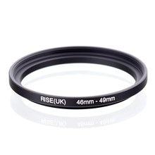 Original RISE (royaume uni) 46mm 49mm 46 49mm 46 à 49 adaptateur de filtre à anneau dentraînement noir