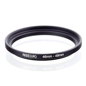 Image 1 - Oryginalny RISE (UK) 46mm 49mm 46 49mm 46 do 49 pierścień redukcyjny adapter do filtra czarny