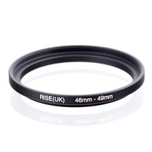 original RISE(UK) 46mm 49mm 46 49mm 46 to 49 Step Up Ring Filter Adapter black