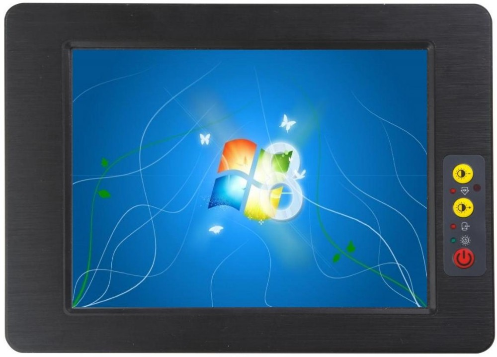 Fanless Low Power 8.4 Inch Touch Screen Panel PC  (PPC-084C)