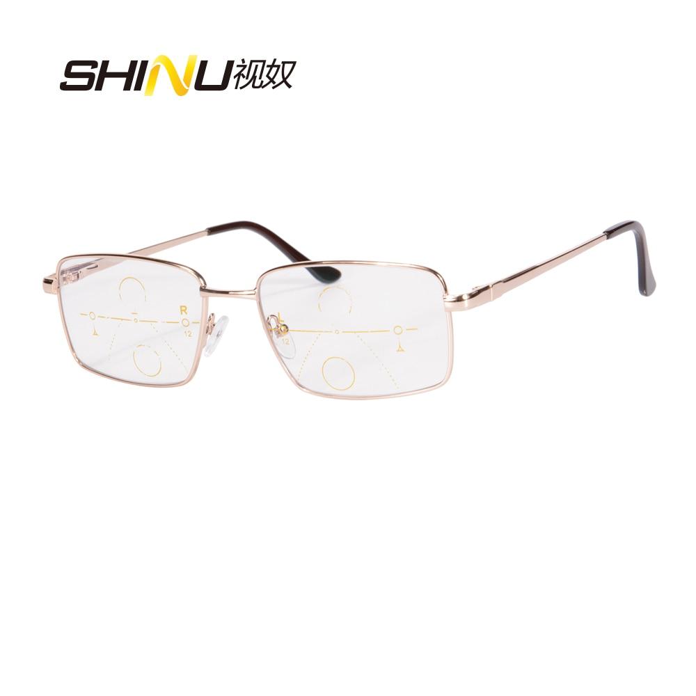 Nueva llegada Gafas de lectura multifocales progresivas SHINU Marco - Accesorios para la ropa - foto 6