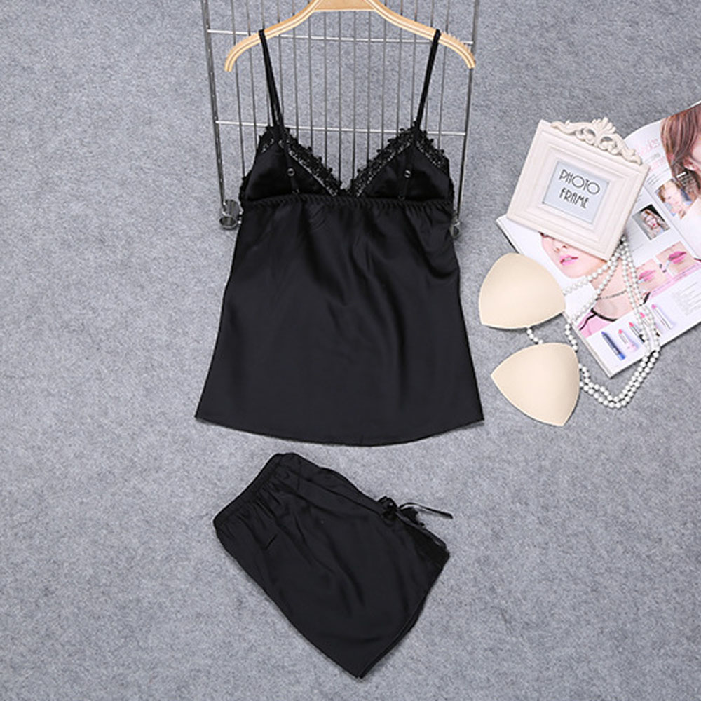 80e73c9a7 1 inch = 2.54 cm. Please note that slight color difference should be  acceptable due to the light and screen. Package included: 1 x Women Pajamas  Sets