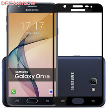 Full Cover 9H Tempered Glass For Samsung Galaxy A5 A3 A7 2017/6 J5 J3 J7 2017 EU J5Pro J3Pro J7Pro Screen Protective Phone Film(China)