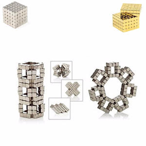 Toys Magnet-Blocks Cube Assemble Puzzle Neodymium-Magnets Funny Creative Super 216pcs/Set