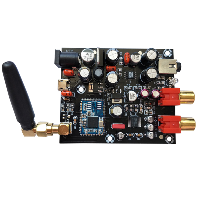 CSR8675 Bluetooth 5.0Receiver Board PCM5102A I2S DAC Decoder Board APTX HD Wireless Audio Module Support 24BIT With Antenna-in Amplifier from Consumer Electronics