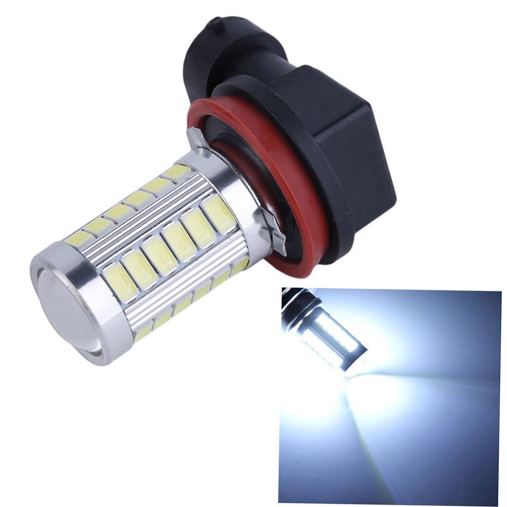 Super White 6500K 5630 33SMD 33 SMD LED H8/H11 Fog Driving DRL Light 12V DC Car Bulb
