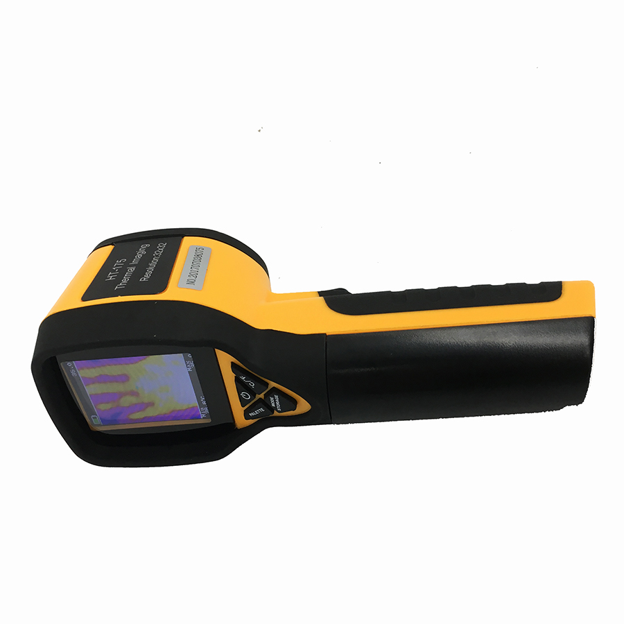 Rechargeable Battery Powered Infrared Thermal Imager with Color Display Screen 4