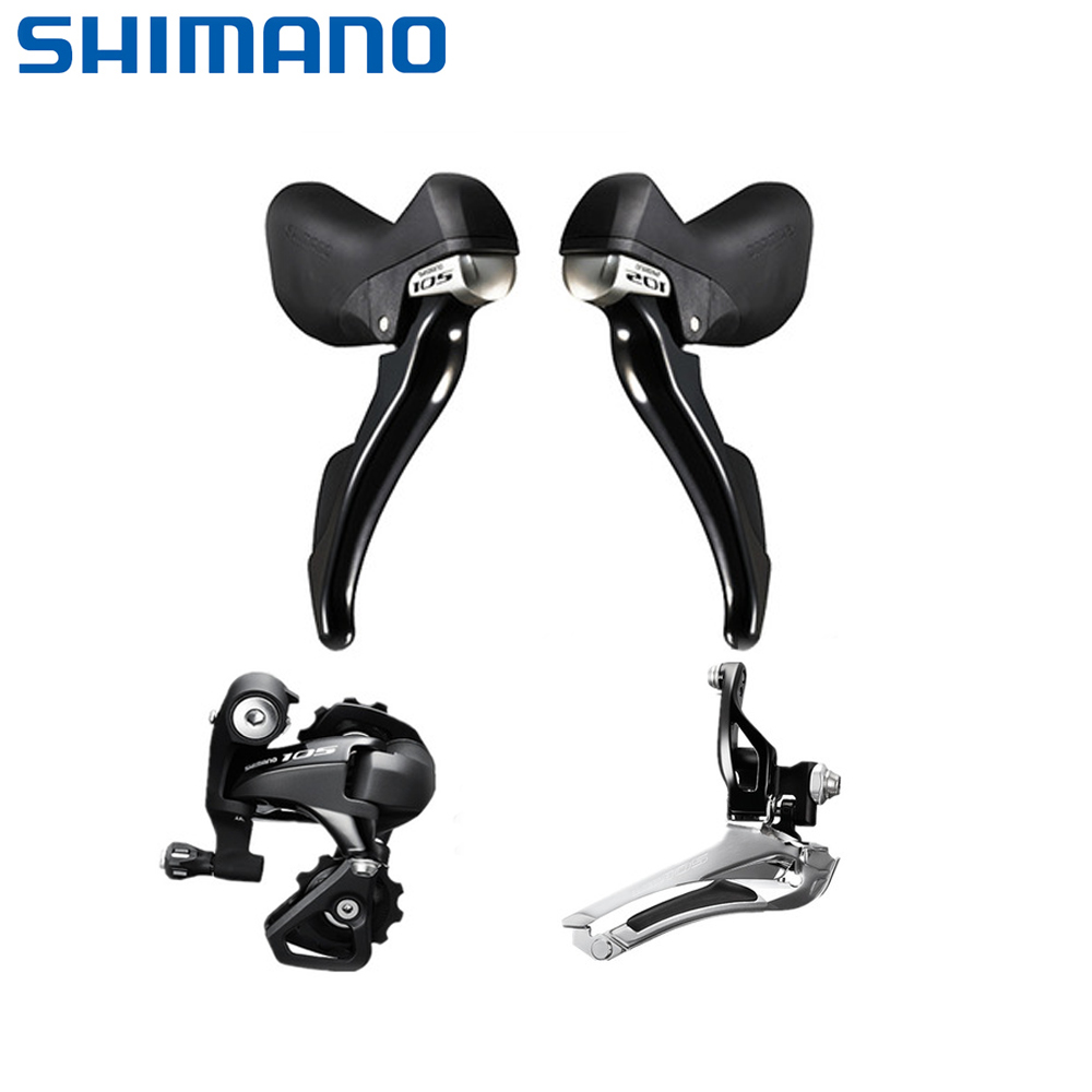 SHIMANO 105 5800 Groupset 2x11 Speed Road Bike Shifter Derailleur Mini Set Front Derailleur Rear Derailleur