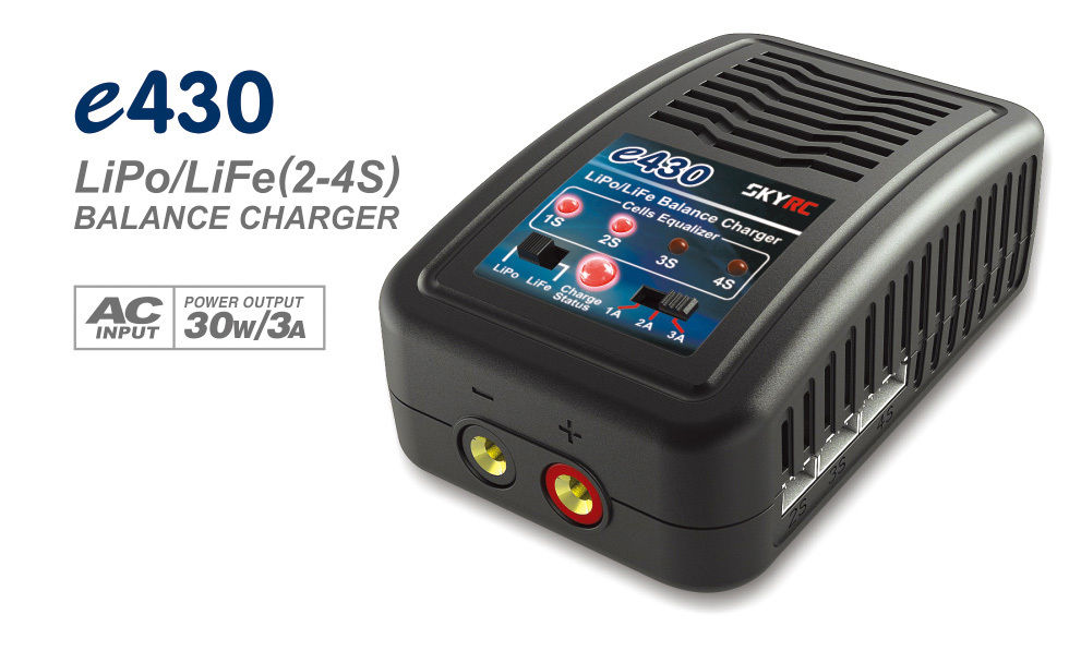 E430 Charger 2-4 cells 1A/ 2A/ 3A 200mA Lipo Charger 100-240v AC Balance charger F22172 цена