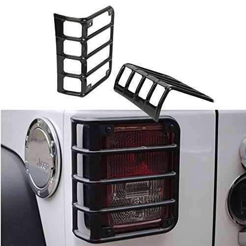 Передние фары крышка отделка свет гвардии Крышка Капота для фар Фонарь для Jeep Wrangler Unlimited JK JKU rubicon