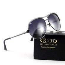 RUI HAO EYEWEAR Polarized Sunglasses Women 5 Color Fashion Driving Glasses Women Goggles Polarized Sun Glasses oculos de sol 34#