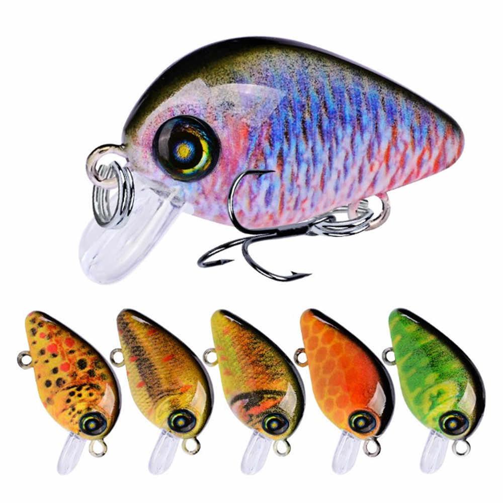 1 шт. мини-кренкбейт рыболовные приманки 1,95 г 28,5 мм Isca искусственная Япония жесткая приманки низкие частоты рыболовные воблеры верхняя вода рыба приманка