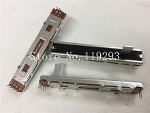 [BELLA]Mixer fader potentiometer HT SC-60G 88MM 8.8CM sliding straight double potentiometer A10K 15MMB  handle –10PCS/LOT