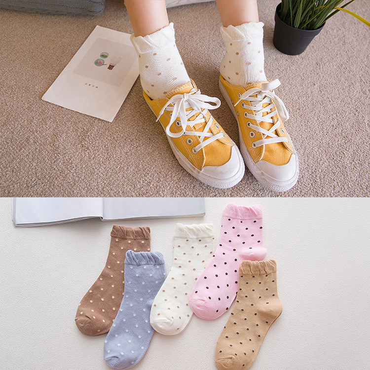 っCalcetines de las mujeres patrón de punto Calcetines cortos estilo ...