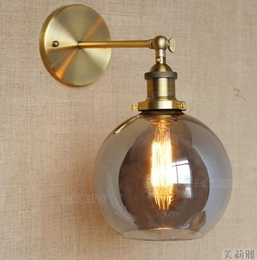 Pared Lamp Vintage Apliques Led Wall Retro Edison Fixtures Lights f7ybg6