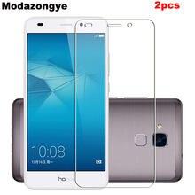 2 Pcs Para Huawei Honor 7 Lite Protetor De Tela de Vidro Temperado para Huawei Honor 7 Lite Lite Honor7 Nem-L21 Vidro De Proteção filme