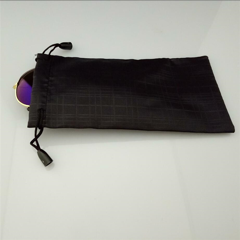 100 Eyeglass New Wholesale Lot Sunglass Black Soft Cleaning Cloth Cases
