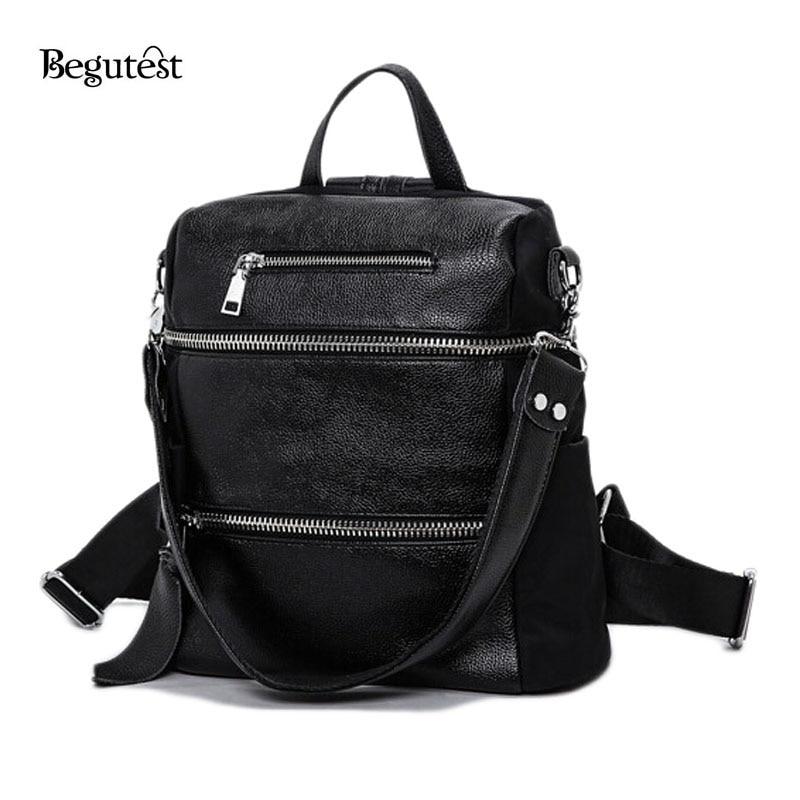 ФОТО 2016 Women's Backpacks Luxury Brand Designer School Backpacks For Teenage Girls PU Leather Solid Color Lady Bags Female Bags