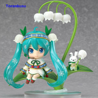 Hatsune Miku #493 Snow Miku Nendoroid Figure Kawaii Figurine PVC Kids Gift Toys For Children Doll Girl Birthday Model Figma XP