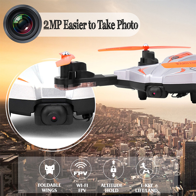 WIFI Selfie HD Camera Foldable Drone RC Dron Helicopter 720P Remote Control Quadcopter Toys 2.4Ghz Helicopters Dron DWI111 original rc helicopter 2 4g 6ch 3d v966 rc drone power star quadcopter with gyro aircraft remote control helicopter toys for kid