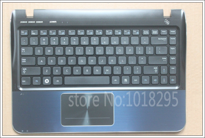 English New laptop keyboard for SAMSUNG SF310 SF311  US black keyboard with shell