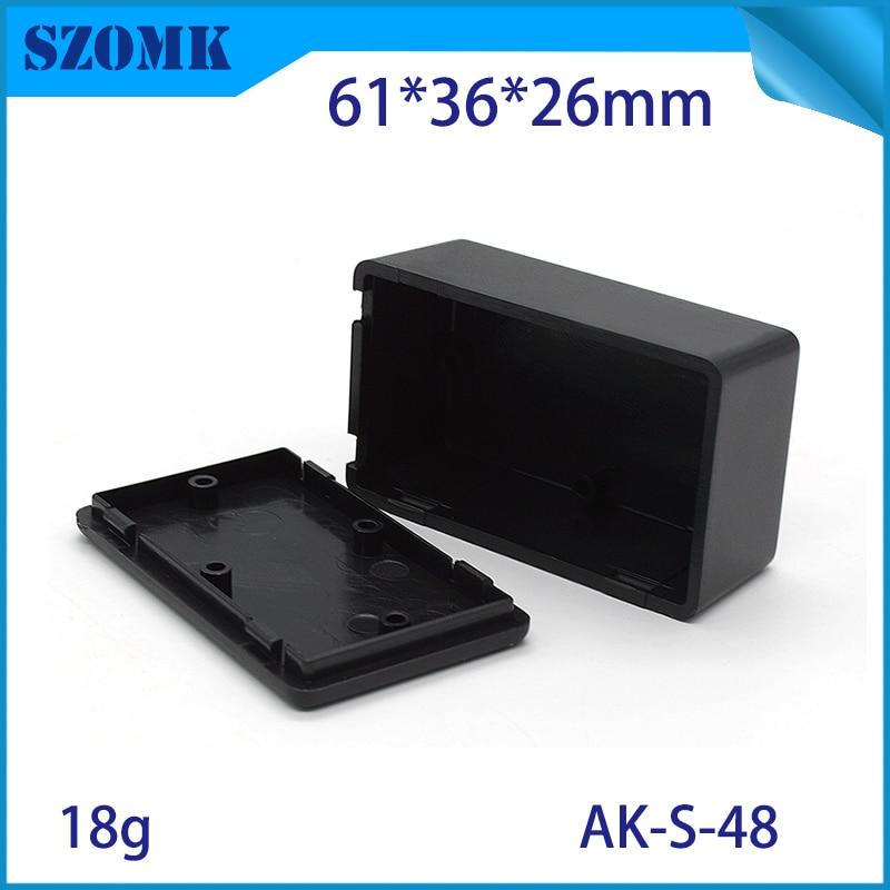 Black Waterproof Plastic Electric Project Case Junction Box 60*36*25mm Sm yiS JA