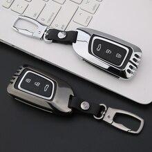 Чехол для автомобильного ключа для dongfeng verano A30 ax7 Чехол для автомобильного ключа кошелек держатель чехол для дистанционного ключа автомобиля Стайлинг автомобиля