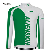 2019 alienskin Cycling Jersey Long Sleeve Ropa Ciclismo Pro Team Summer Bike Clothing Shirt Maillot MTB Clothes Sportwear 6572