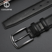 Fashion Designers Men Belts Genuine Leather Dress Casual Pin Buckle Business Belt for Man 2019 New Male Belt Luxury Strap HQ091 2018 new large size genuine leather men belts fashion long male designers high quality 140cm 150cm 160cm jeans pin buckle belt