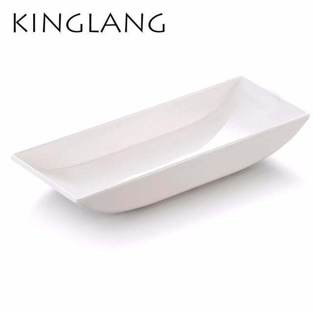 Plastic Melamine Boat Shape Display Plate High Quality Deep finishing Matte Salad Plate Tableware  sc 1 st  AliExpress.com & Plastic Melamine Boat Shape Display Plate High Quality Deep ...