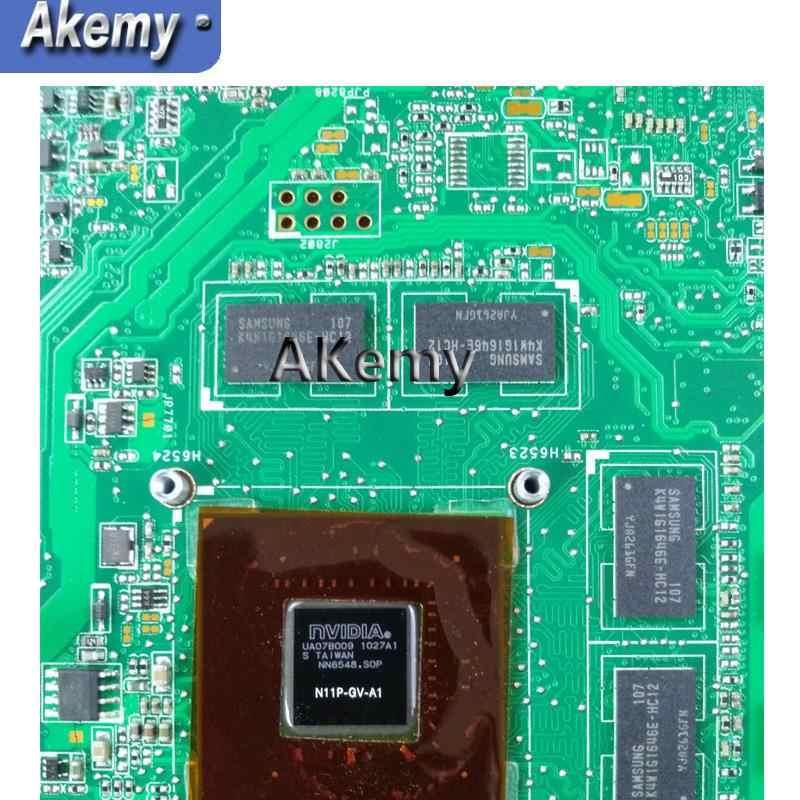 Akemy Asus N73JN N73JQ N73JF マザーボード 60-NZXMB1100-E18 メインボード 8 メモリ Rev2.0 メインボード 100% テスト ok
