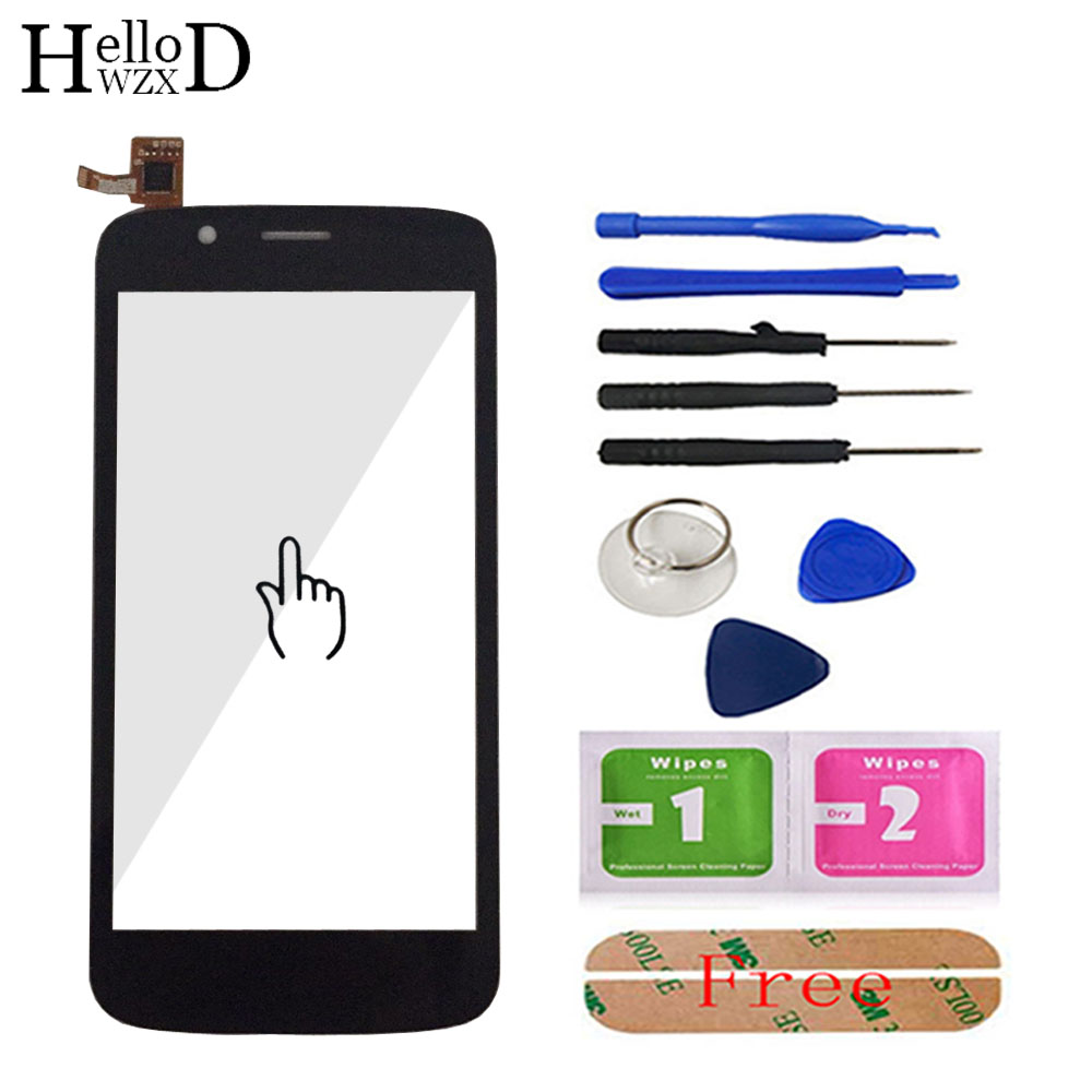5.0 Phone Touch Glass For Prestigio MultiPhone PAP5504 PAP 5504 Duo Front Screen Digitizer Panel Lens Sensor Tools Adhesive