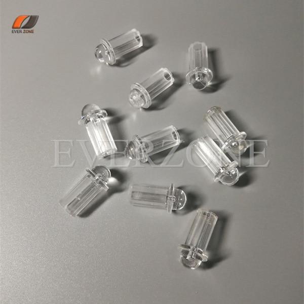 Optic Fiber Lights Ceiling Plastic End Fittings 50pcs With Optic Fiber Lighting Cable 0.75mm/1.0mm/1.5mm Fixed Plugger