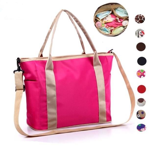 Multifunctional Ny Mummy Bag Maternity Handbag Diaper Bags For Baby Changing Cover Bolsa De