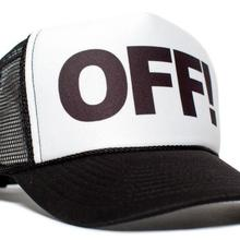OFF! Letters Print Baseball Cap Trucker Hat For Women Men Un