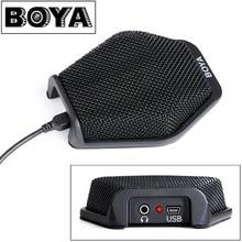 BOYA BY-MC2 USB Condenser Desktop Conference Computer Microphone for Windows Mac Laptop for Business Meeting, Seminar, Speech
