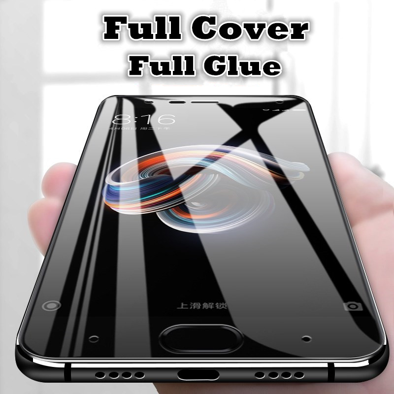 LITBOY Screen-Protector Tempered-Glass Full-Glue Xiaomi Mi-Note-3 5D for Explosion-Proof
