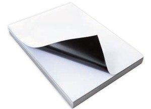 Image 2 - A5/A4 size Inkjet Print Magnetic Glossy Surface Photo Paper For Dye Desktop printer