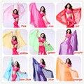 2016 Высокое качество женщин дешевые шифон танец живота вуаль шелковый красный для продажи 250*120 см